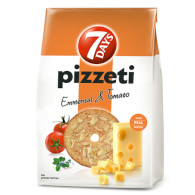 Pizzeti 7days emmental/tomato 80g