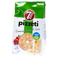 Pizzeti 7days emmental/tomato/česnek 80g