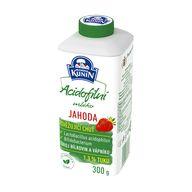 Mléko acidof. jahoda 300g Kunín LACT