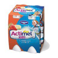 Actimel kids banán/jahoda 4x100g
