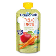 Hamánek jablko/mrkev 100g HAM XT