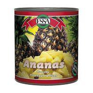 Ananas kousky 850g Essa