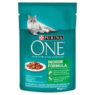 Kaps. kočka Indoor tuňák/fazolky 85g Purina T