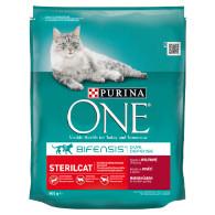 Granule kočka Sterilcat hovězí/pšenice 800g Purina T