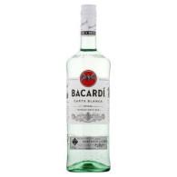 Bacardi Carta Blanca 37.5% 1L GLOB