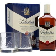 Ballantines 40% 0,7l + 2skla T