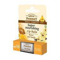 Balzám na rty med s vanilkou Green Pharmacy