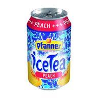 Čaj led. broskev 0,33l P PFANNER