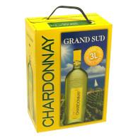 Grand sud chardonnay 3l UNB