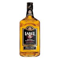 Whisky Label 5 40% 0,5l
