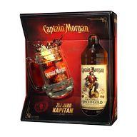 Captain Morgan spiced gold + KORBEL 35% 0,7l STOCK T