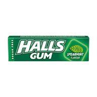 Halls GUM Spearmint 14g