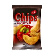 Chips paprika 70g ČC