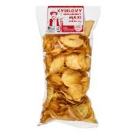 Chips mastné solené MAXI 180g CYRIL
