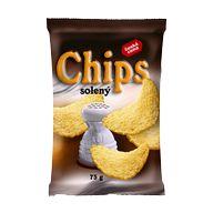 Chips solený 70g ČC