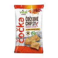 Chips Vital čočka chilli 65g