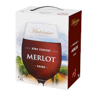 Mutěnice Merlot 5l BIB