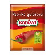 Paprika gulášová 25g KOT