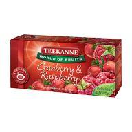 Čaj Cranberry and Raspberry WOF 20ks 45g TEEK