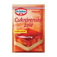 Cukr.želé červené 10g OET
