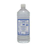 Voda destilovaná 1l PET