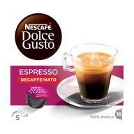Dolce Gusto Espresso bez kofeinu 96g NEST XK