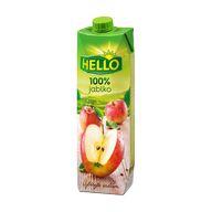 Džus jablko 100% Hello 1l TP