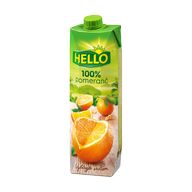 Džus pomeranč 100% Hello 1l TP