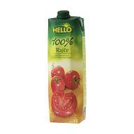Džus rajče 100% Hello 1l TP