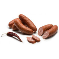 Klobása mini s jalapeňos 85% 1kg KRAH