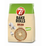 Bake Rolls Bran česnek 80g