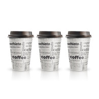 Kelímek Papír Coffe 50ks 0,3l PAP