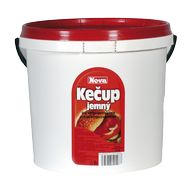 Kečup jemný 5kg KB NOVA