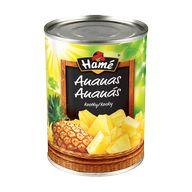 Ananas kostky 567g P  HAM