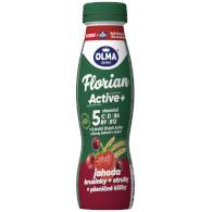 Jog. drink Florian Active jahoda 0,9% 320g Olma