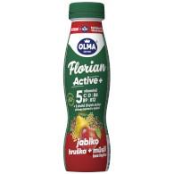 Jog. drink Florian Active jablko/hruška/müsli 0,9% 320g Olma