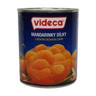 Mandarinky dílky 850ml P