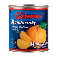 Mandarinky EO Giana 312g PP175g