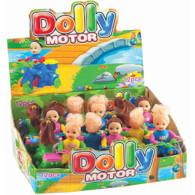 Hračka Panenka na motorce Dolly + kompr. 4g