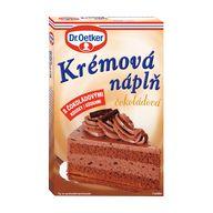 Náplň dort. čokoláda 80g OET XK
