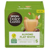 Dolce Gusto Almond Flat White 132g NES