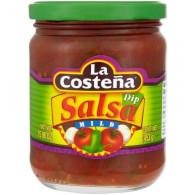 Salsa Dip Mild 453g Costeňa S