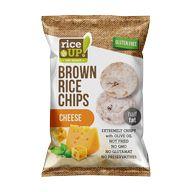 Chips rýžový se sýrem 60g LAKS