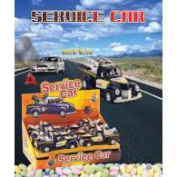 Hračka Service car s cukrovinkou 5g
