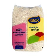 Rýže kulatozrnná 1kg Arax