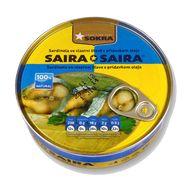 Sardinky vl.šťáva Saira 240g