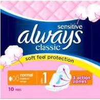 Always classic normal sensit. S1 10ks