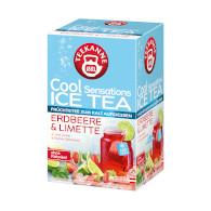 Čaj ledový CS jahoda/limetka 45g Teekanne