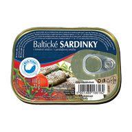 Sardinky Balt.tomato P 110g  HAM