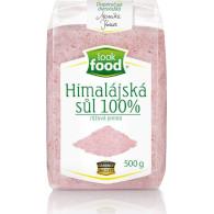 Sůl himalájská 100% růžová jemná 500g LF XT